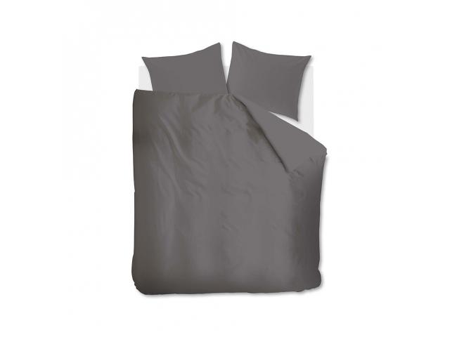 Dekbedovertrek 'Basic' - kleur: Grey