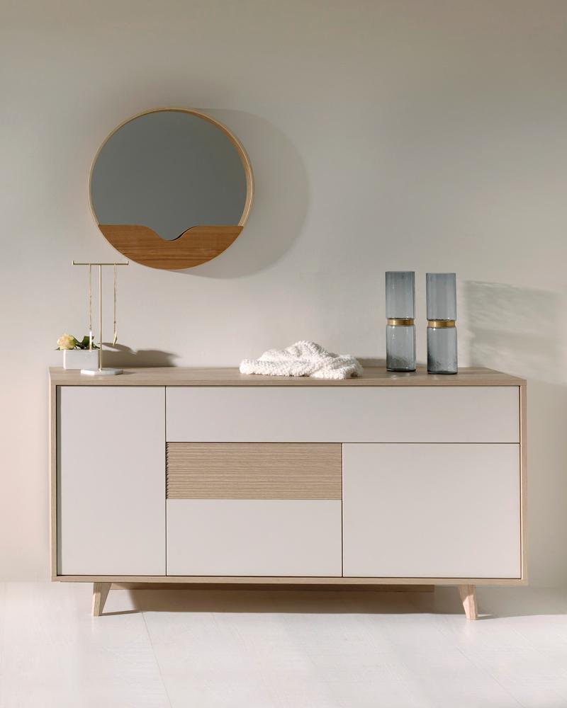 Slaapkamer mila kleur eik beige wit deba meubelen
