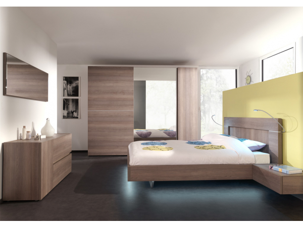 Slaapkamer Met Hout : Slaapkamer nia hout deba meubelen