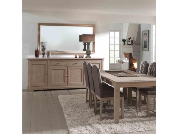 Eetkamer Massief Hout : Toonzaalmodel: eiken eetkamer hout deba meubelen