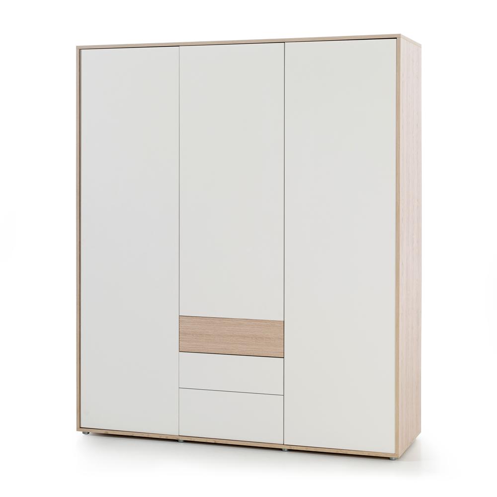 Slaapkamer Meubels Wit : Kleerkast mila slaapkamer wit deba meubelen