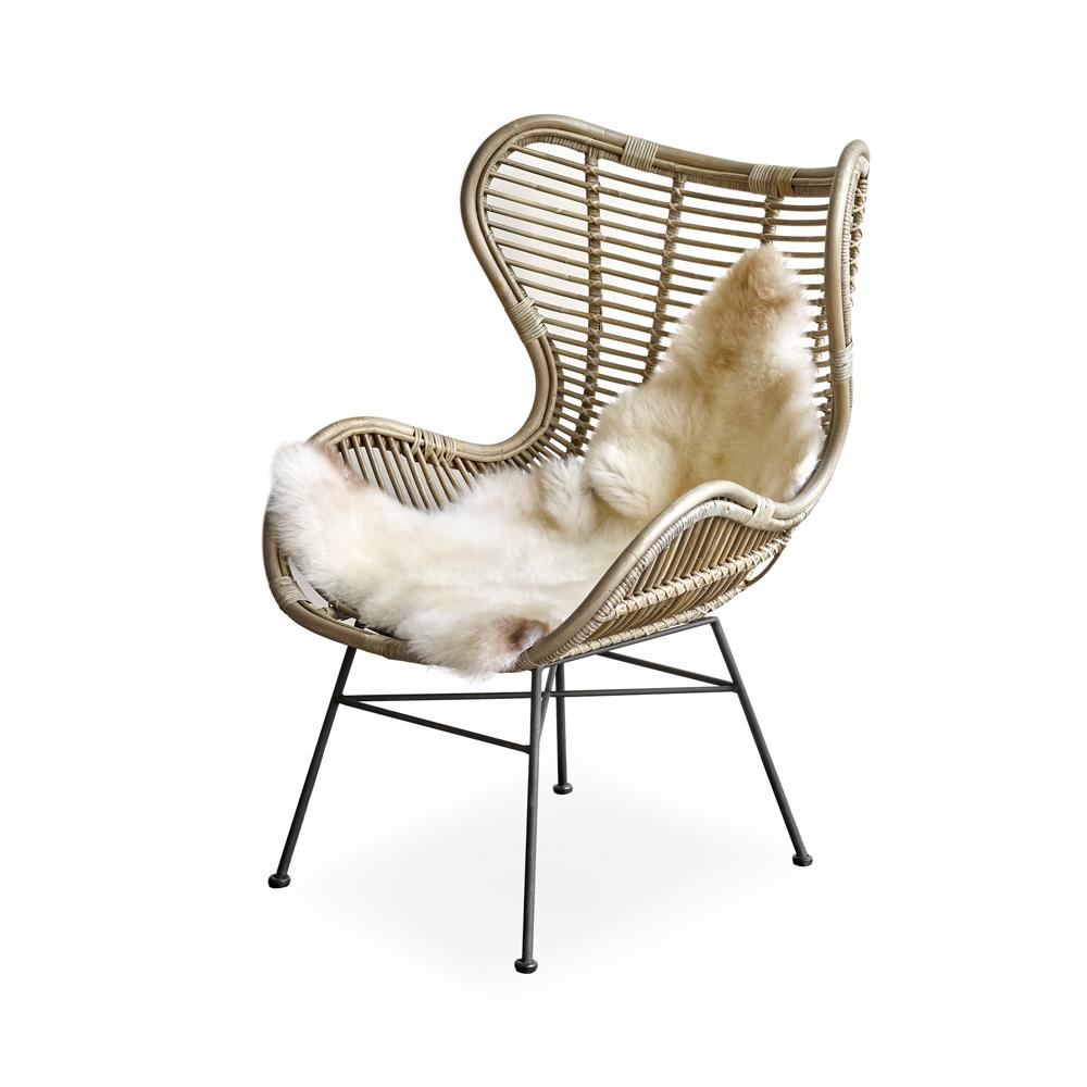 Lounge Stoel Woonkamer : Loungestoel bruin deba meubelen