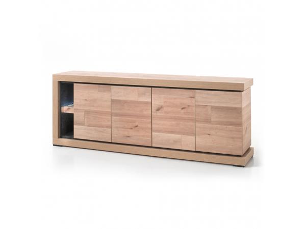Dressoir Decoratie Ideeen : Kast dressoir pisa oude eik leisteen hout deba meubelen