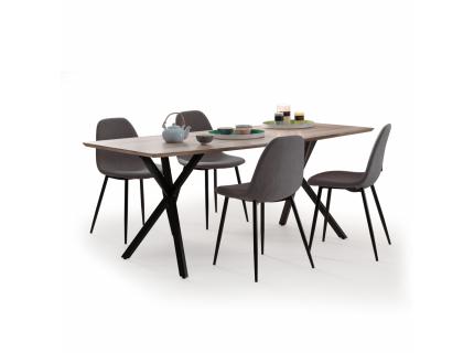 Eetkamertafel ovaal 'Oval' - kleur: Eike