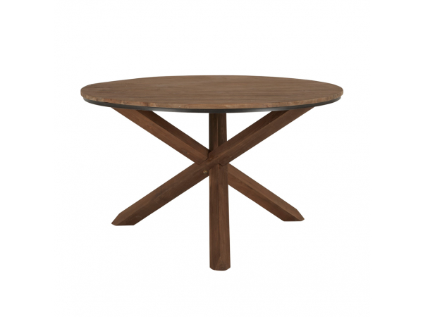 ronde eetkamertafel hout | deba meubelen