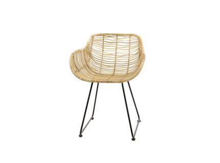Bamboo armstoel