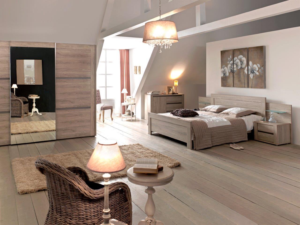 Slaapkamer rocca hout deba meubelen