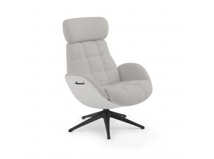 Ease Chester relaxfauteuil, Taf. Off White