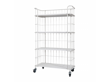 VT stock trolley, wit