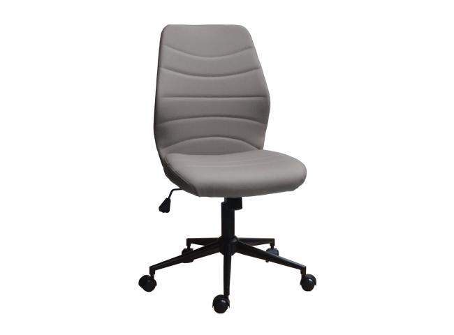 Bureaustoel 'Roundy' - kleur: zwart
