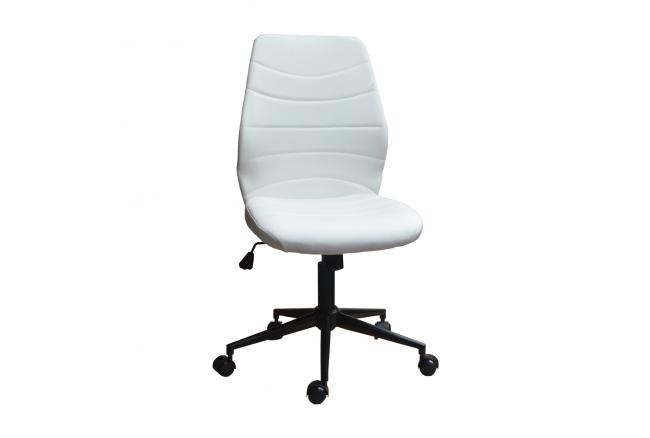 Bureaustoel 'Roundy' - kleur: Mud grijs