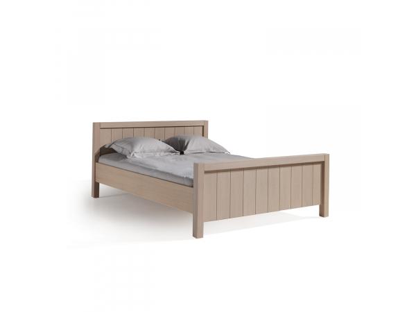Bed 140x200 Hout.Bed 140x200 Quinta Elephant Grey Hout Deba Meubelen