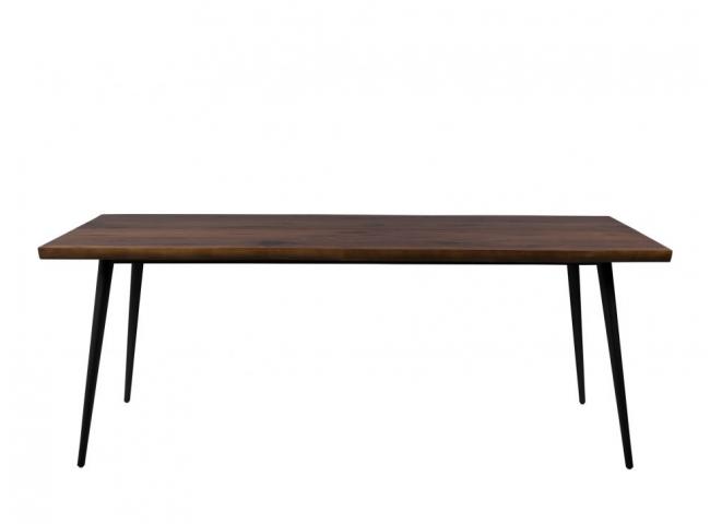 Alagon tafel, Walnut Veneered
