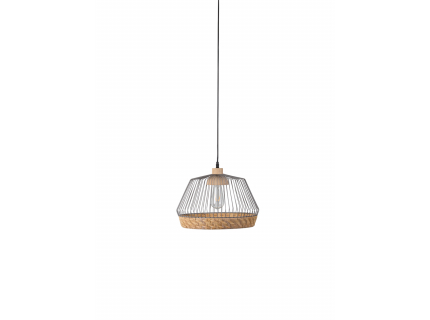 Birdy hanglamp wide, Matte grey