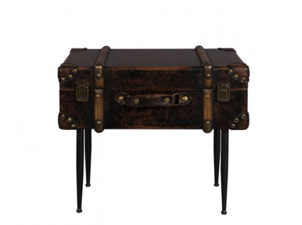 Luggage bijzettafel, Vintage PU-Leather