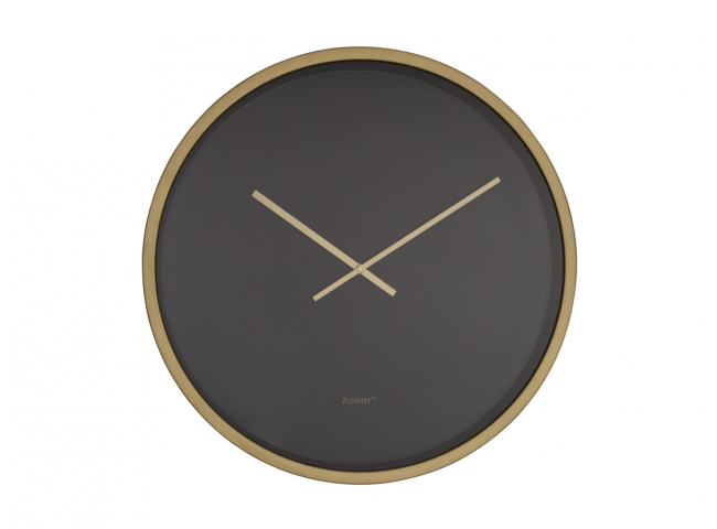 Time Bandit klok, Black/Brass