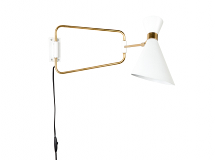 Shady wandlamp, White