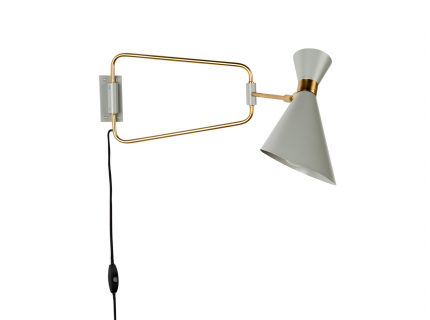 Shady wandlamp, White