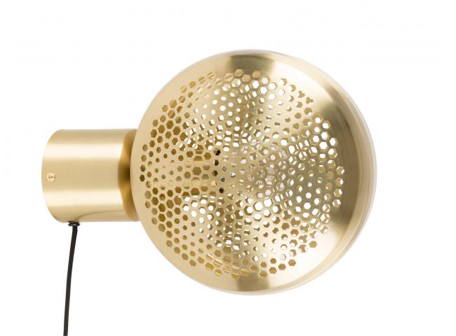Gringo wandlamp, Brass