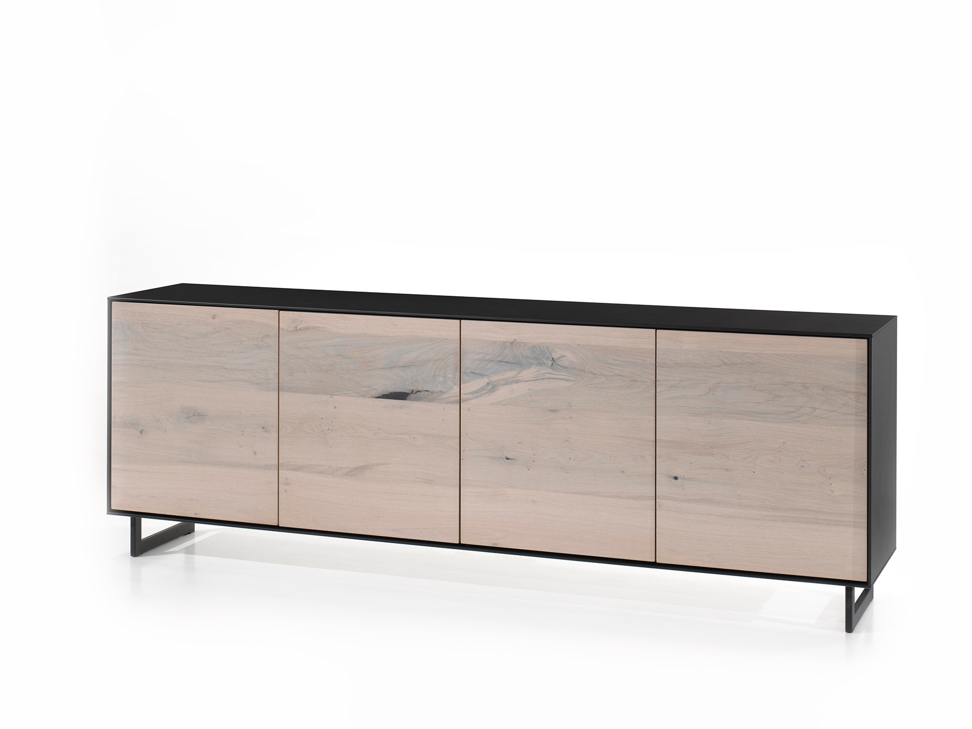 Kast dressoir sito white wash hout deba meubelen
