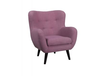 Retro fauteuil 'Otis' - kleur: Soul oran
