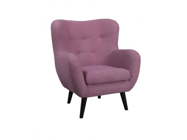 Retro fauteuil otis soul orange paars deba meubelen