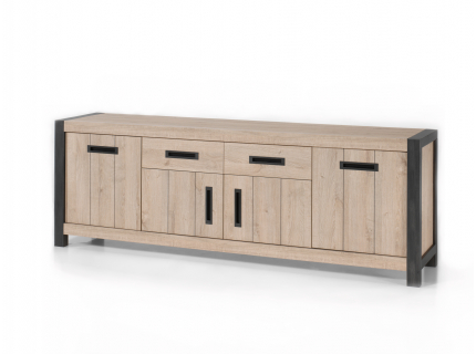 Lion dressoir, Pure wood