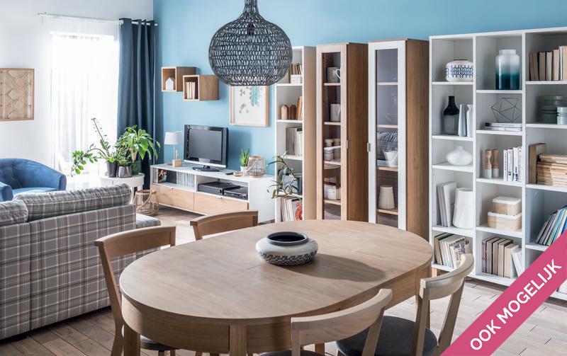 Boekenkast In Woonkamer : Boekenkast maken in nis woonkamer  meter werkspot