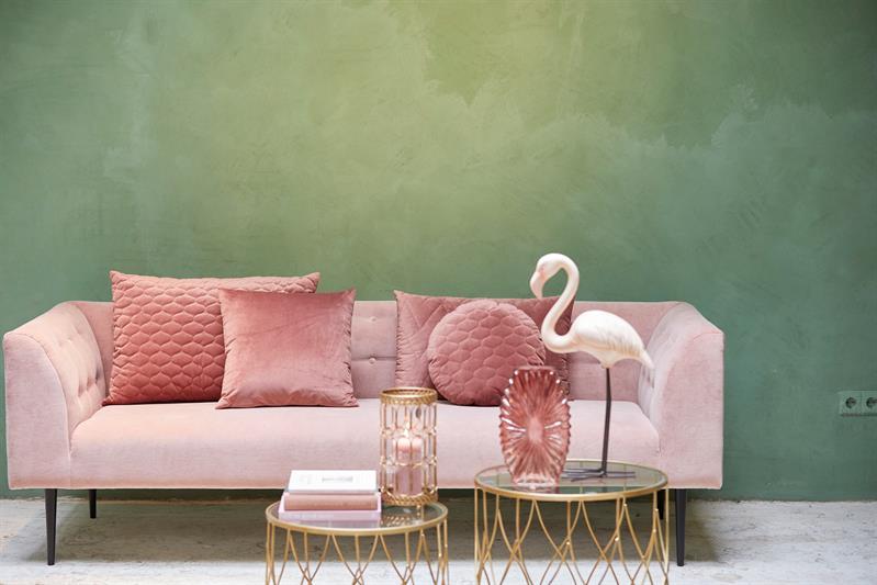 Kussen Oud Roze : Kussen chelsea oudroze roze deba meubelen