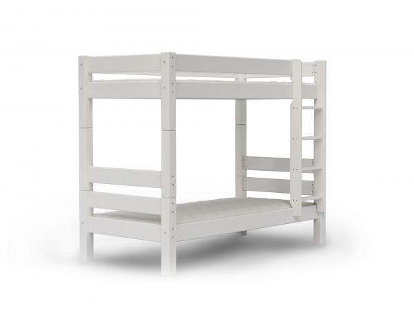 Kleuren Slaapkamer Jeugd : Stapelbed nova kleur: wit wit deba meubelen