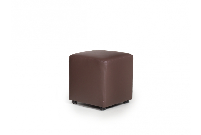 Poef 'Cube Roll' - kleur: Lila