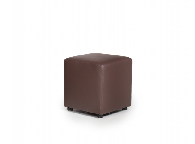 Poef 'Cube Roll' - kleur: Derb