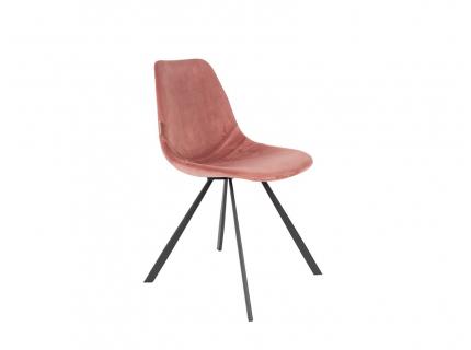 Stoel 'Franky Velvet' - kleur: