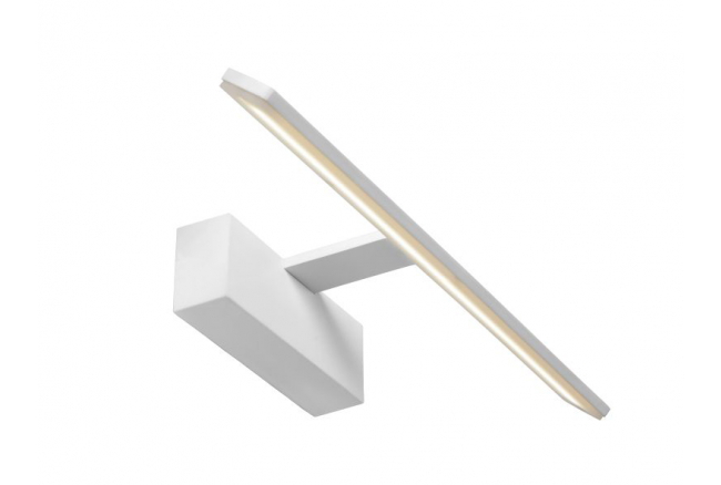 Wandlamp 'Bethan' - kleur: Wit