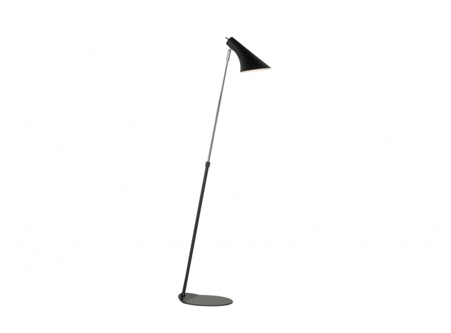 Vloerlamp 'Vanila' - kleur: Zw
