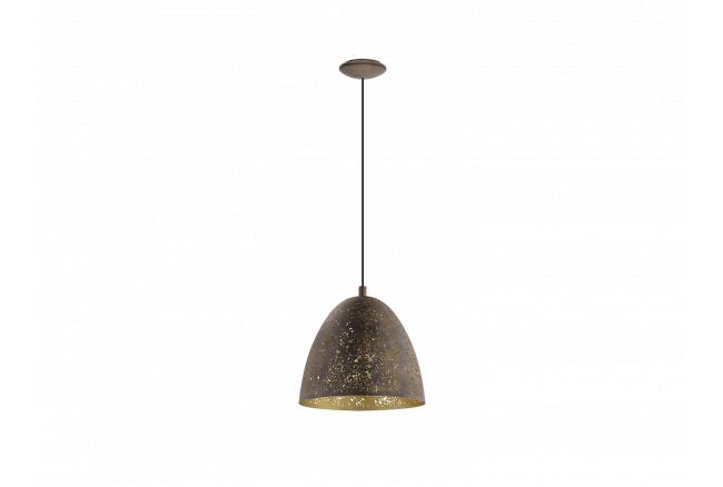 Hanglamp 'Safi' - kleur: Bruin