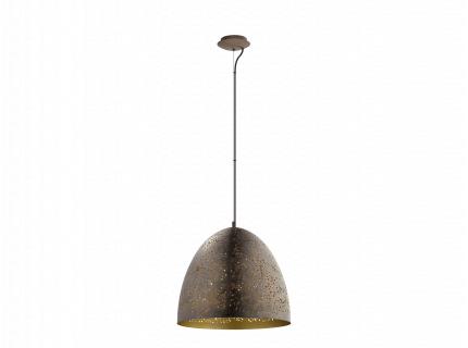 Hanflamp 'Safi' - kleur: Bruin