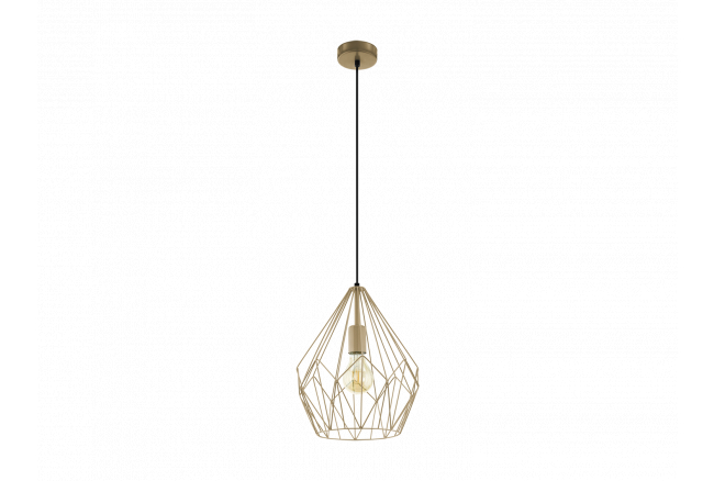 Hanglamp 'Carlton' - kleur: Go