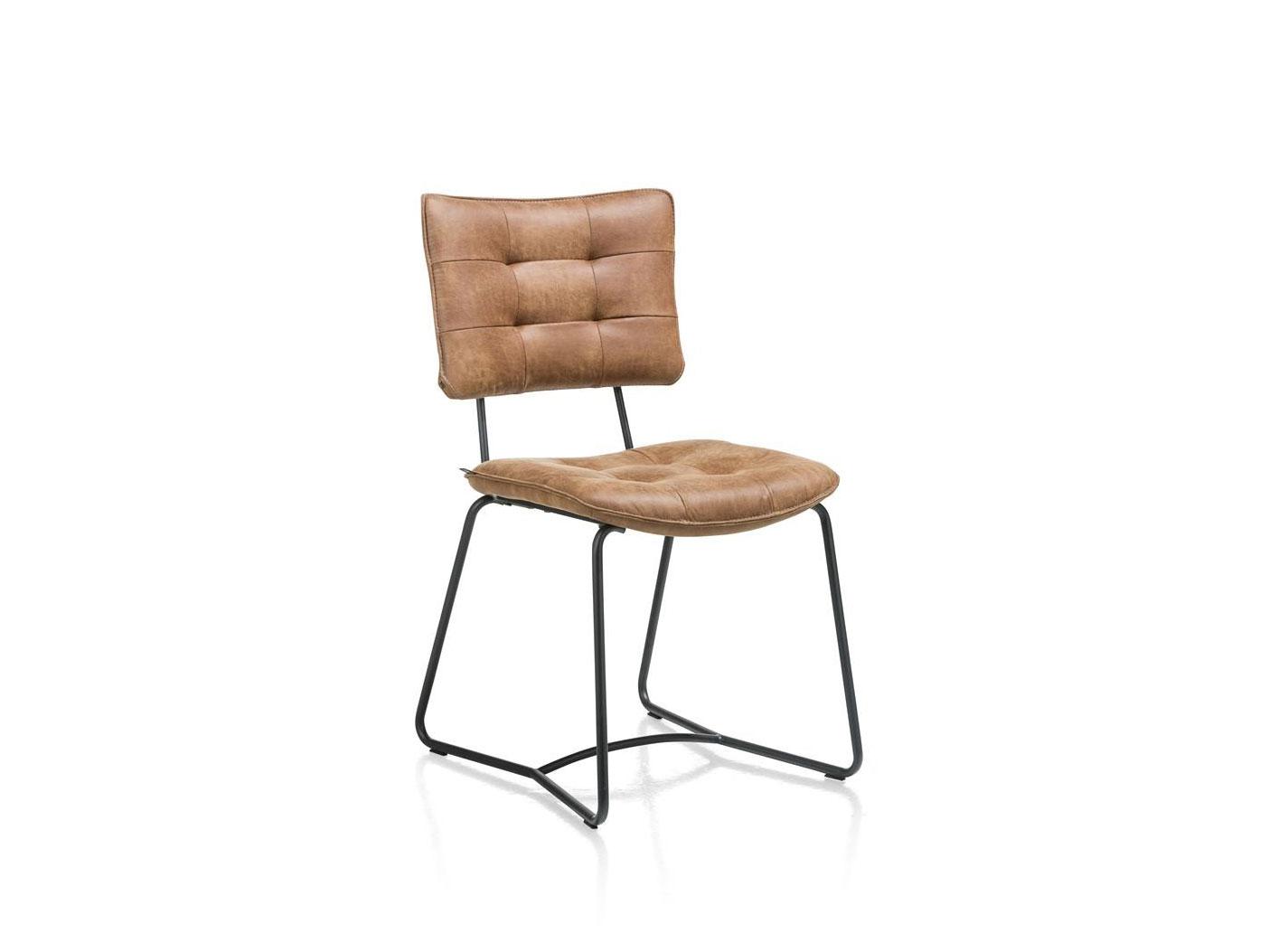 Cognac Kleur Stoel : Stoel julien kleur cognac bruin deba meubelen
