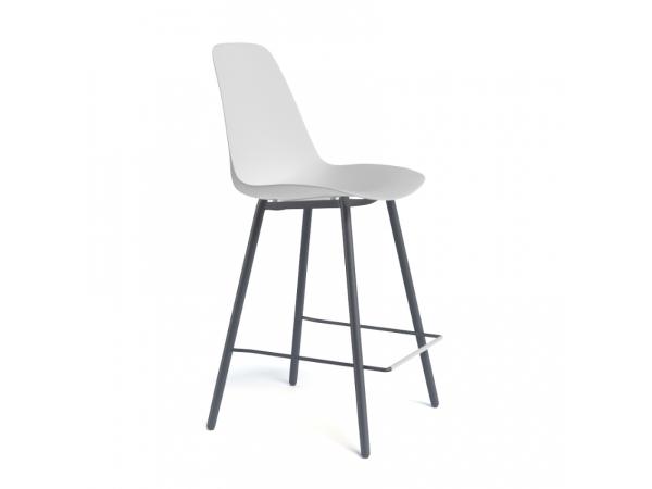 Moderne Witte Barstoelen.Barstoel Barclaudio Wit Antraciet Wit Deba Meubelen