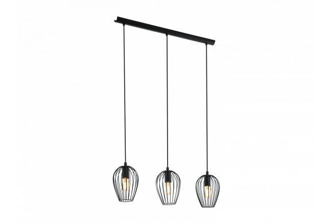 Hanglamp 'Newtown' - kleur: Zw