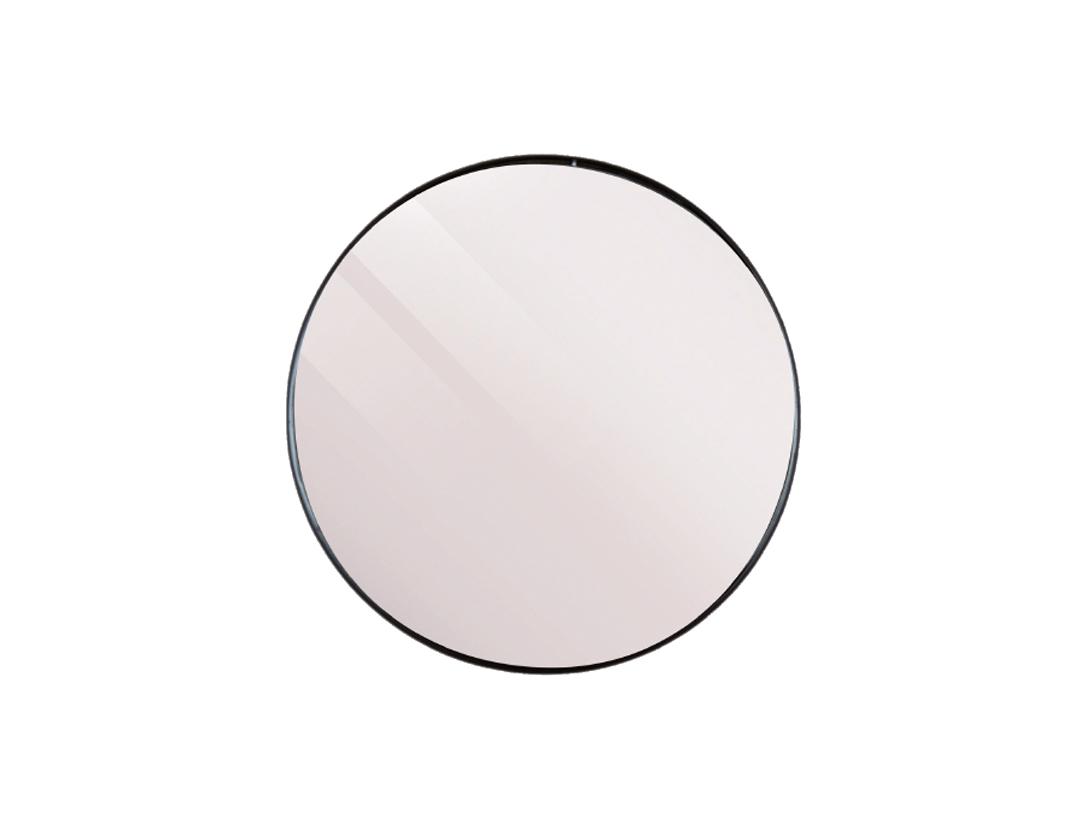 Spiegel Zwart Metaal : Spiegel juma kleur metal zwart deba meubelen