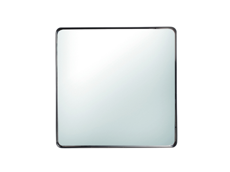 Spiegel Zwart Metaal : Spiegel nahla metal zwart deba meubelen