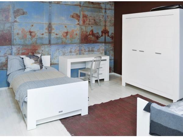 Deuren Voor Slaapkamer.Kast 3 Deuren Merel Wit Wit Deba Meubelen
