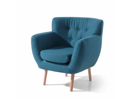 Fauteuil 'Gilbert' - kleur: Portland ora