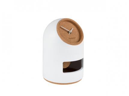 Klok 'Uno' - kleur: White