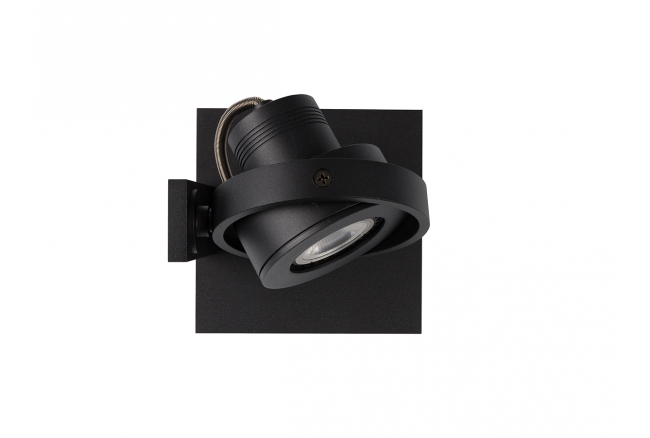 Spot 'Luci-1' - kleur: Black