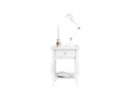 Nachttafel 'Diva' - kleur: Wit