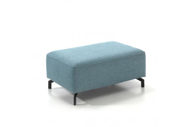 Voetbank 'Top' - kleur: Cube ocean blue