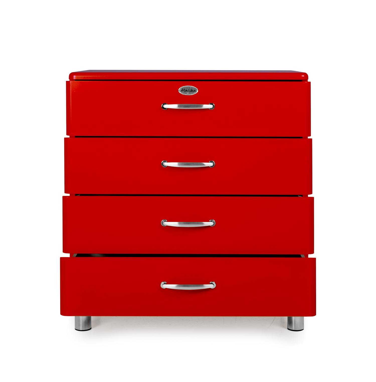 Malibu Kast Rood : Commode malibu rood rood deba meubelen
